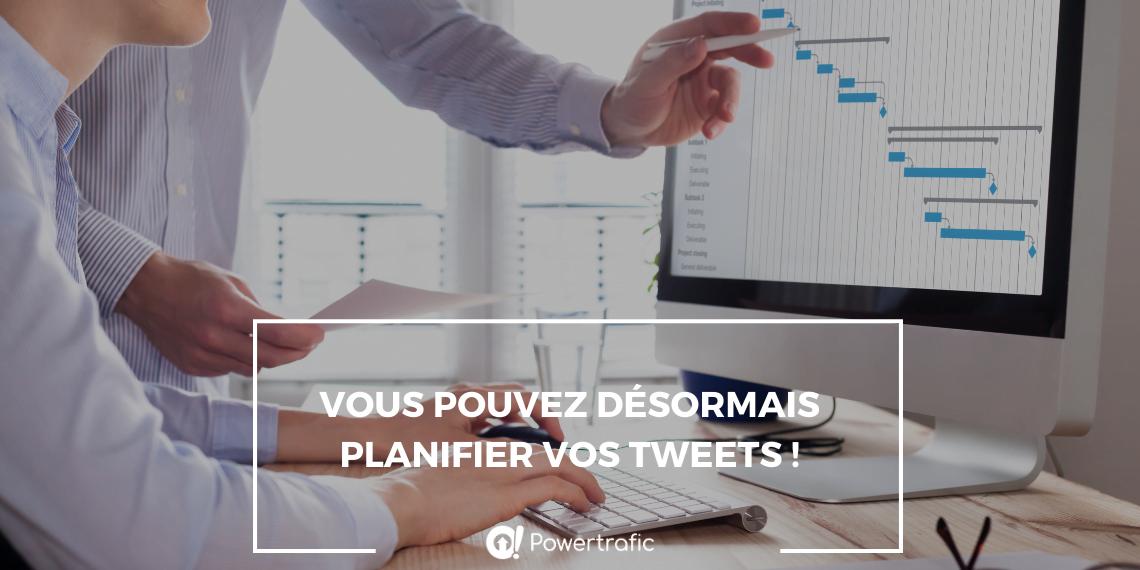 twitter planifier visuel