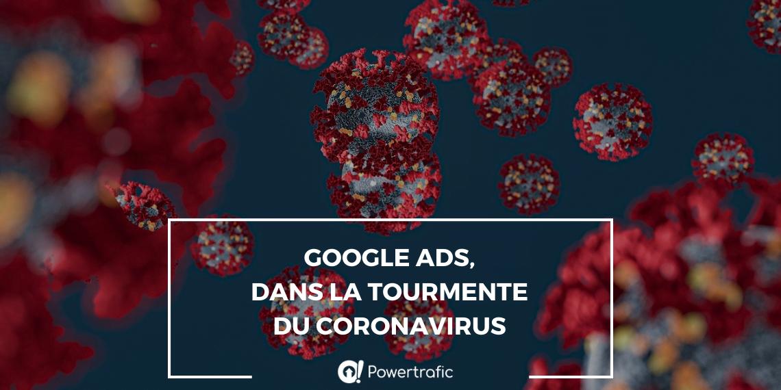 Google Ads aussi affecté par le coronavirus COVID-19