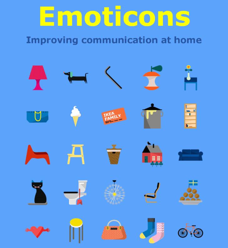 ikea emojis creation
