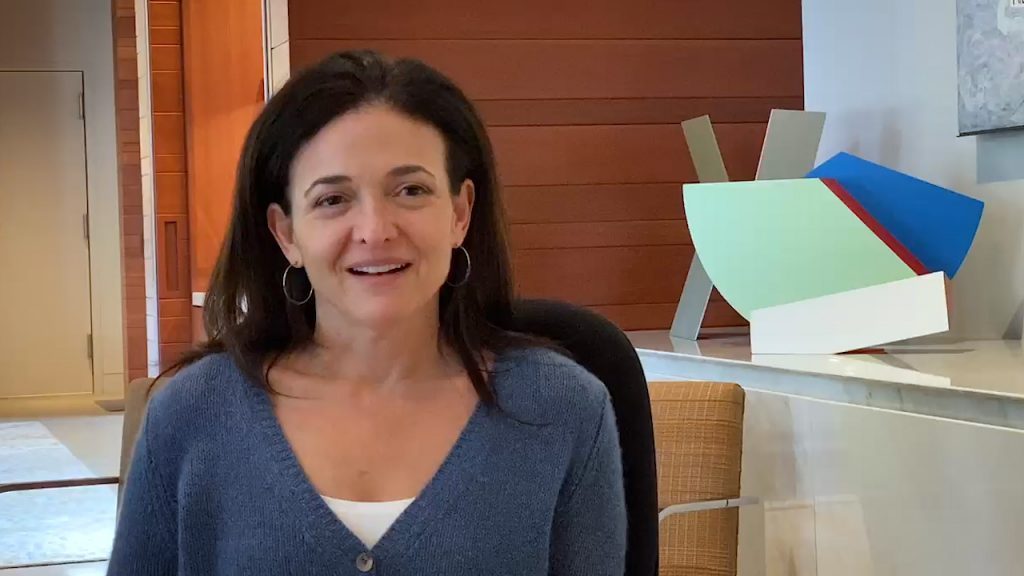 Intervention de Sheryl Sandberg