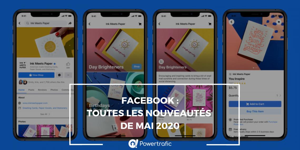 Facebook : découvrez toutes les nouveautés annoncées