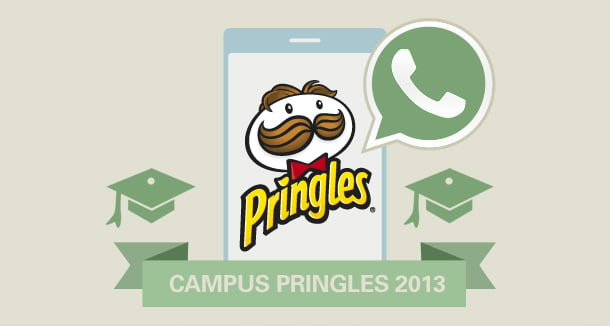 pringles whatsapp campus