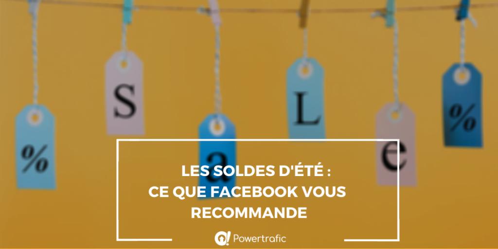 soldes recommandations facebook