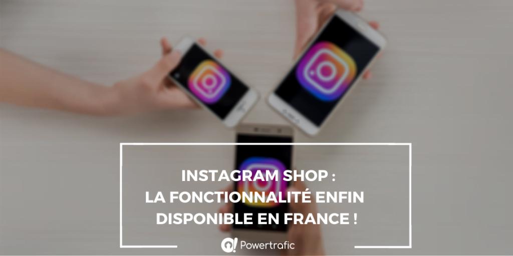 instagram shop france
