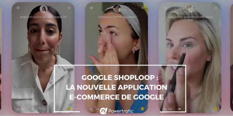 Google Shoploop application e-commerce