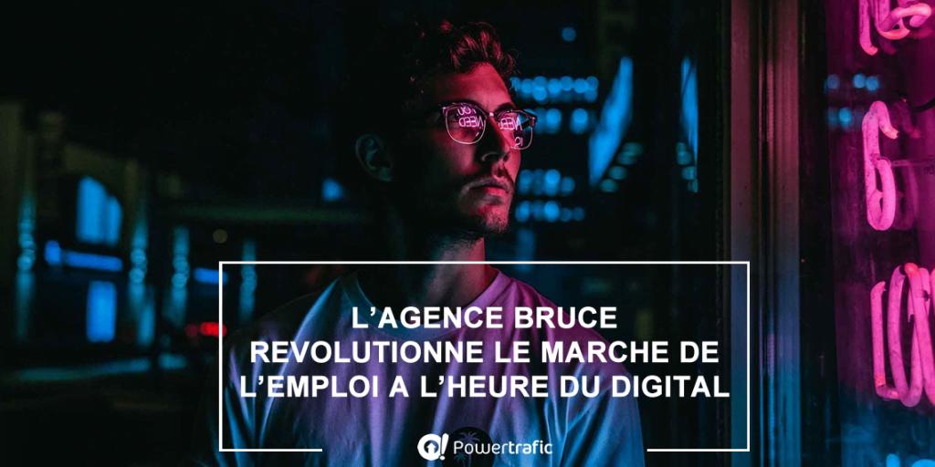 Bruce : une agence d'intérim digitale et mobile qui privilégie la distance pour recruter