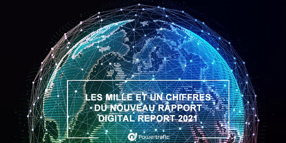 Rapport annuel Digital Report de We Are Social et Hootsuite