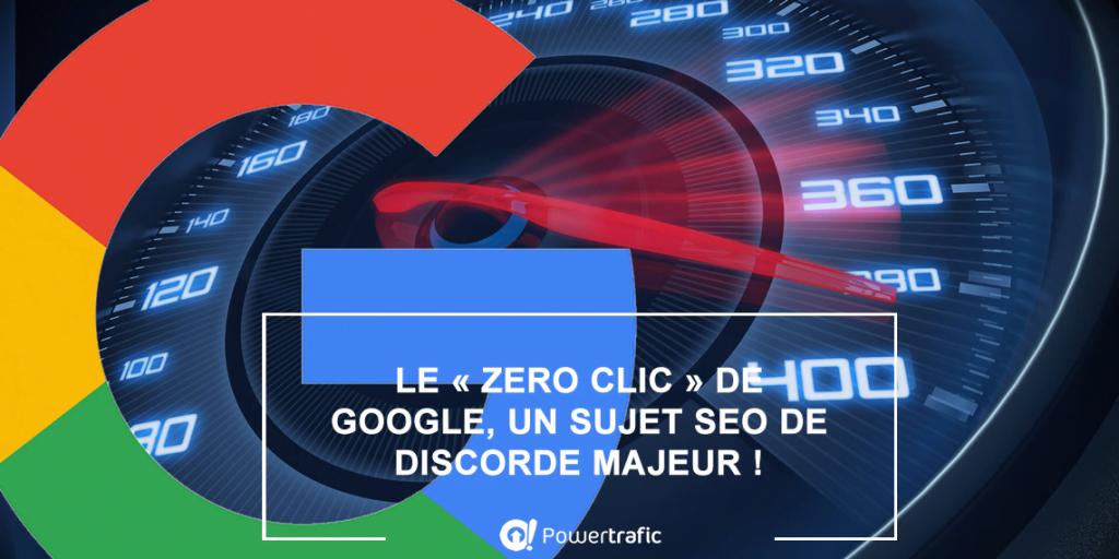 Comment la progression du zéro clic dans les SERP de Google impacte votre SEO ?